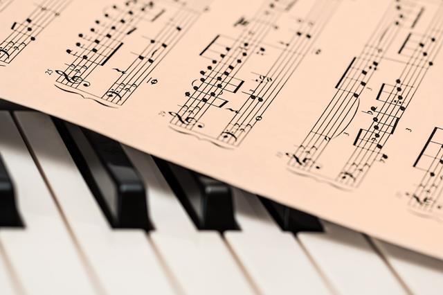 musica arabe teclado partitura