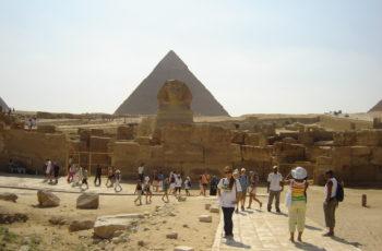 Viagem ao Oriente – Visita às pirâmides – 5o dia